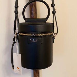 RADLEY London Medium Zip-Around Cylinder Bag Black